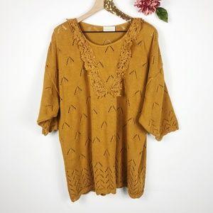 [ROMANS] VTG Cider Oversized Sweater